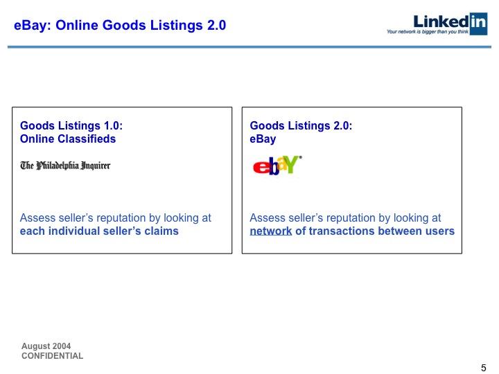 LinkedIn Series B Pitch Deck to Greylock: Slide 5