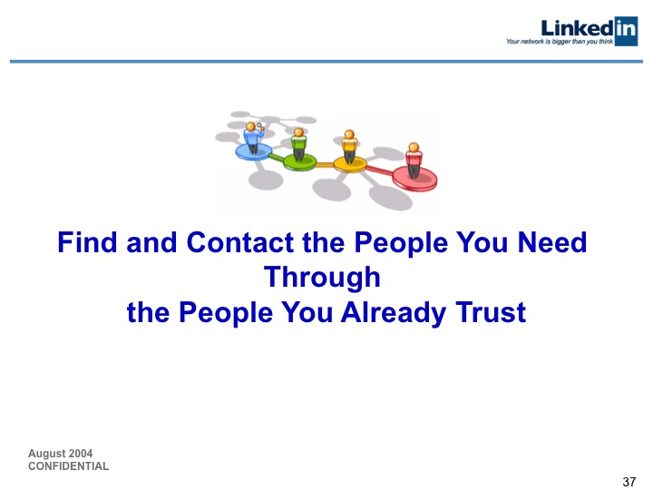 LinkedIn Series B Pitch Deck to Greylock: Slide 37