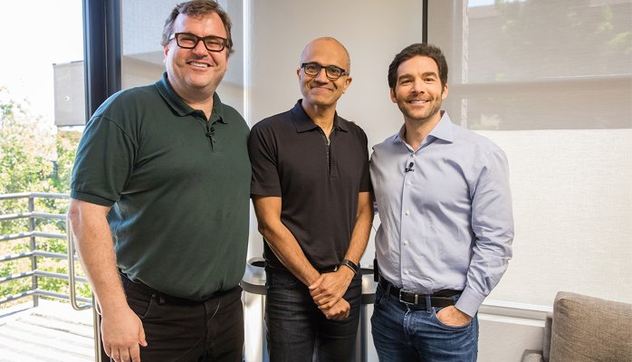 LinkedIn to Microsoft: connecting global and corporate professional networks