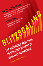 Blitzscaling Book Cover